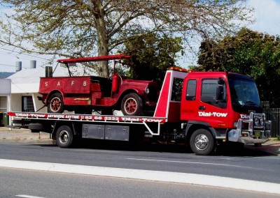 Towing a vintage car Adelaide - we provide prestige car towing services across Australia